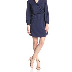 Lilly Pulitzer Buckett Navy Dress Small
